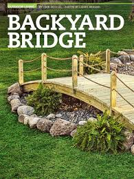 2108 backyard bridge plans outdoor plans garden koi pond