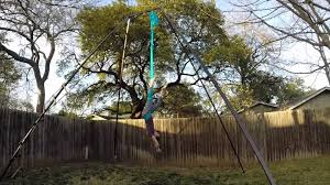 Free Standing Hammock Backyard Rig Hammock Youtube