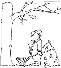 autumn u0026 fall color page coloring pages for kids holiday