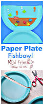 make a paper plate fishbowl craft with the kids this summer easy