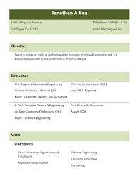 Proper Format For Resume Resume Templates Free Australia It Resume Cover Letter Template