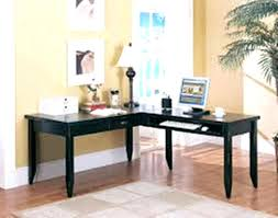 L Shaped Desk Cheap Emejing L Shaped Black Computer Desk Contemporary Liltigertoo