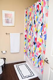 Kate Spade Striped Shower Curtain Spring Master Bathroom Refresh Monica Wants It