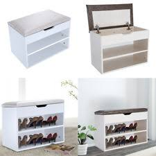 Shoe Storage Bench Shoe Storage Bench Ebay