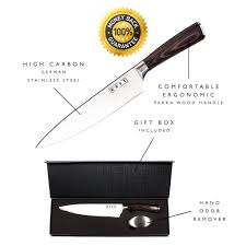Razor Sharp Kitchen Knives Aicok 8 Inch Chef Kitchen Knife With Stainless Steel Razor Sharp