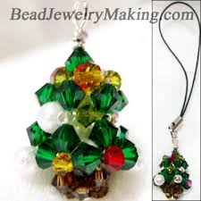 Easy Beaded Christmas Ornaments - christmas tree