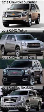 cadillac escalade vs yukon denali 2015 gmc yukon xl picture doc527844 chevy chevrolet rvinyl