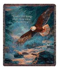 Patriotic Eagle Meme - a magnificent selection of bald eagles tapestry throw blankets