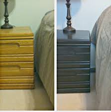 Staining Kitchen Cabinets Darker Before And After Dining Room Classic Black Kitchen Cabinets With Old Masters Gel