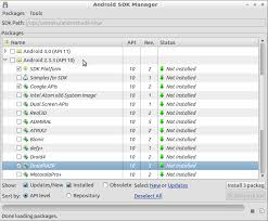 install android sdk howto get started with android sdk in santoku linux santoku linux