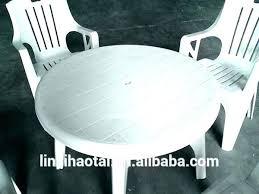white plastic patio table round green plastic garden table white garden table plastic patio