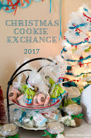 free christmas cookie exchange printable sign flour on my face
