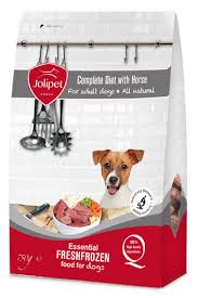 jolipet diet dog food with horse meat frozen food for dogs based