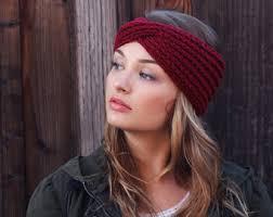 winter headbands winter headband etsy