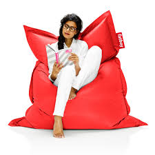 Red Leather Bean Bag Chair Buy The Fatboy Original Beanbag Online Shop