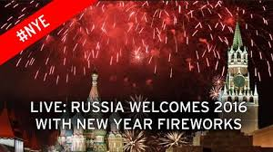 new year s celebrations live new year s 2015 russia sees in 2016 with moscow celebrations