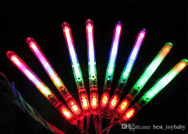 christmas sticks with lights led flashing glow wand light sticks led flashing light up wand