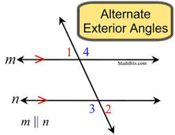 What Is Interior And Exterior Angles Angles And Parallel Lines Mathbitsnotebook Geo Ccss Math