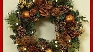 pre lit wreaths outdoor