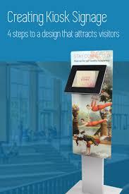 33 best branding u0026 signage for ipad kiosks images on pinterest