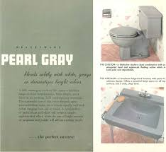 the color gray in vintage bathrooms from 1927 to 1962 retro vintage gray bathroom