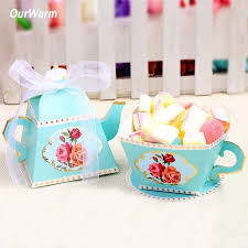 tea party favors ourwarm 10pcs candy boxes tea party favors wedding gifts for