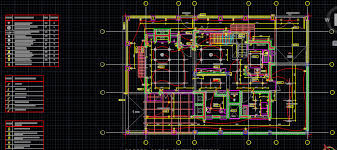 small house electrical layout plan cad files dwg files plans
