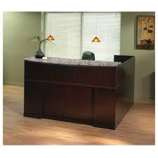 Granite Reception Desk Mayline Srcslm Sorrento Reception Desk Granite Counter Top Right