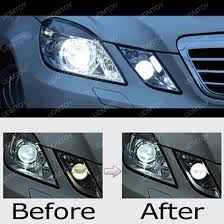 Position Light 2010 13 Mercedes E350 E550 6000k Hid Match Led Parking Light Module