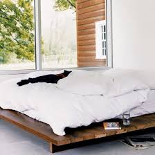 Making A Platform Bed From Pallets by Best 25 Low Platform Bed Frame Ideas On Pinterest Low Platform