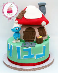 167 best smurf cakes images on pinterest cakes birthday cakes