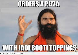 Funny Indian Meme - ramdev special pizza lol indian funny indian pics and images