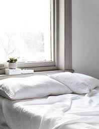 stonewashed bed linen white italian sheets citi abode living