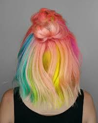 rainbow color hair ideas 28 cool rainbow hair color ideas trending for 2018