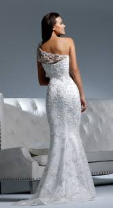 one shoulder wedding dresses picture of chic and one shoulder wedding dresses
