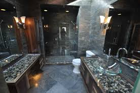 cool bathroom ideas modern bathroom design bathroom ideas grey floor river rock