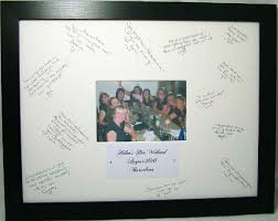wedding autograph frame wedding autograph frame personalized best images collections hd