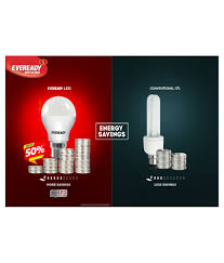 Best Price On Led Light Bulbs by Eveready 9w 6500k Pack Of 3 Cool Day Light Led Bulb Buy Eveready