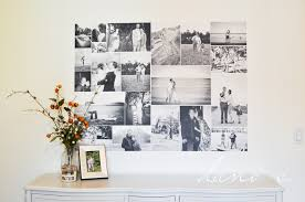 How to Turn a Photo Collage Into a Removable Wall Adhesive