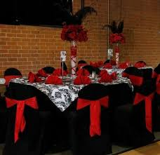 Black Table Centerpieces by 310 Best Red White And Black Table Settings Images On Pinterest
