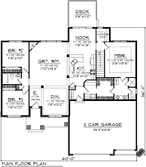 1 Car Garage Dimensions Bungalow Style House Plan 3 Beds 2 Baths 1884 Sq Ft Plan 70