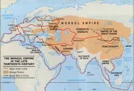 Mongol Empire Map Leaders Of Mongolian Empire By Nishali Naik