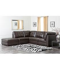 Abbyson Leather Sofa Reviews Sectionals Calvin Leather Sectional