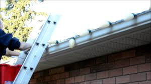 broken clips on outdoor christmas lights for eavestroph easy fix