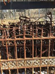 wrought iron fencing and gates antiques architectural salvage
