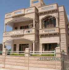 Chokhat Design Jodhpur Stone House Design Home Sandstone Building Jpg Related Pic