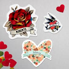 free printable valentine u0027s day temporary tattoos a practical