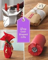 how to wrap presents gift envelope for oddly shaped item crafthubs