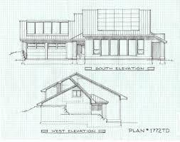 modern net zero energy house plan house plans pinterest