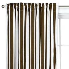 Brown And White Striped Curtains Brown White Striped Curtains Black Brown And White Shower Curtains